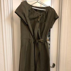 Theory Laela Cotton Dress, Size 8